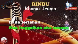 RINDU - Rhoma Irama Dangdut Karaoke