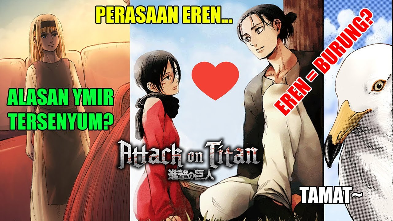 Burung Yeager! | Penjelasan Full Ending Chapter 139 Attack on Titan..!!