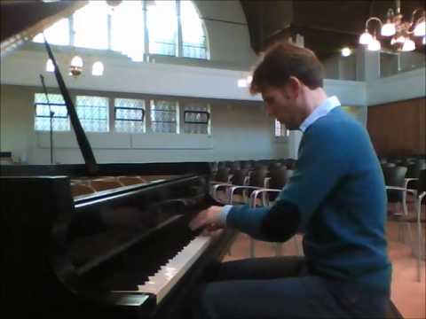 Bas Verheijden plays Tchaikovsky-Pletnev, March from The Nutcracker