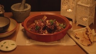 Little Marrakesh - Moroccan Spice Lamb Shank, Tomato And Apricot Tagine