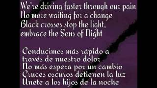 Black Veil Brides - Sons Of Night Lyrics