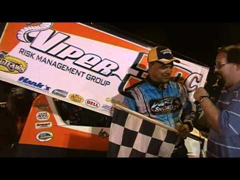 Port Royal Speedway 410 Sprint Car Victory Lane 6-02-12