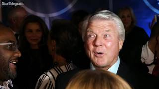 Jimmy Johnson makes rare appearance in Dallas to celebrate 1992 Cowboys Super Bowl team