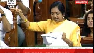 கன்னிப் பேச்சில் கவனம் ஈர்த்த தமிழச்சி தங்கபாண்டியன் | News18 Tamil Nadu