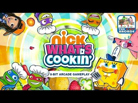 Nick What's Cookin' - Jelly Patty & Veggie Cilantro Cupcake (Nickelodeon Games)