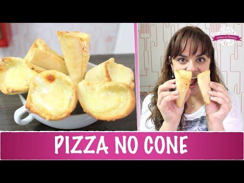 PIZZA NO CONE - #360 - Receitas da Mussinha