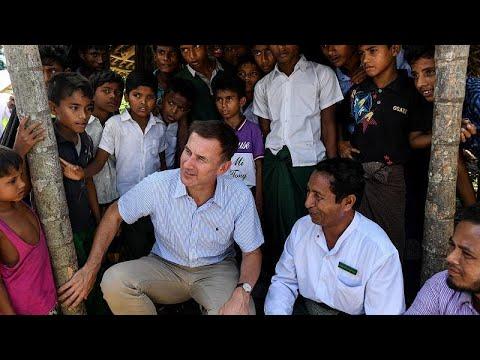 Chefe da Diplomacia britânica lança avisos ao Myanmar