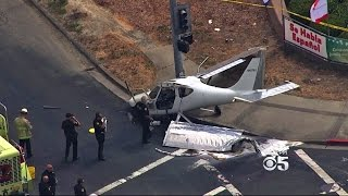 Small Plane Crashes Short Of Airport In Concord