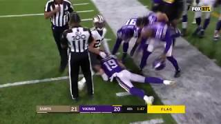 Adam Thielen Gets Assaulted