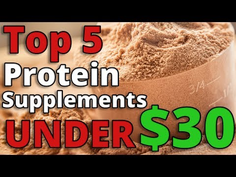Top 5: Best CHEAP Protein Powders UNDER $30