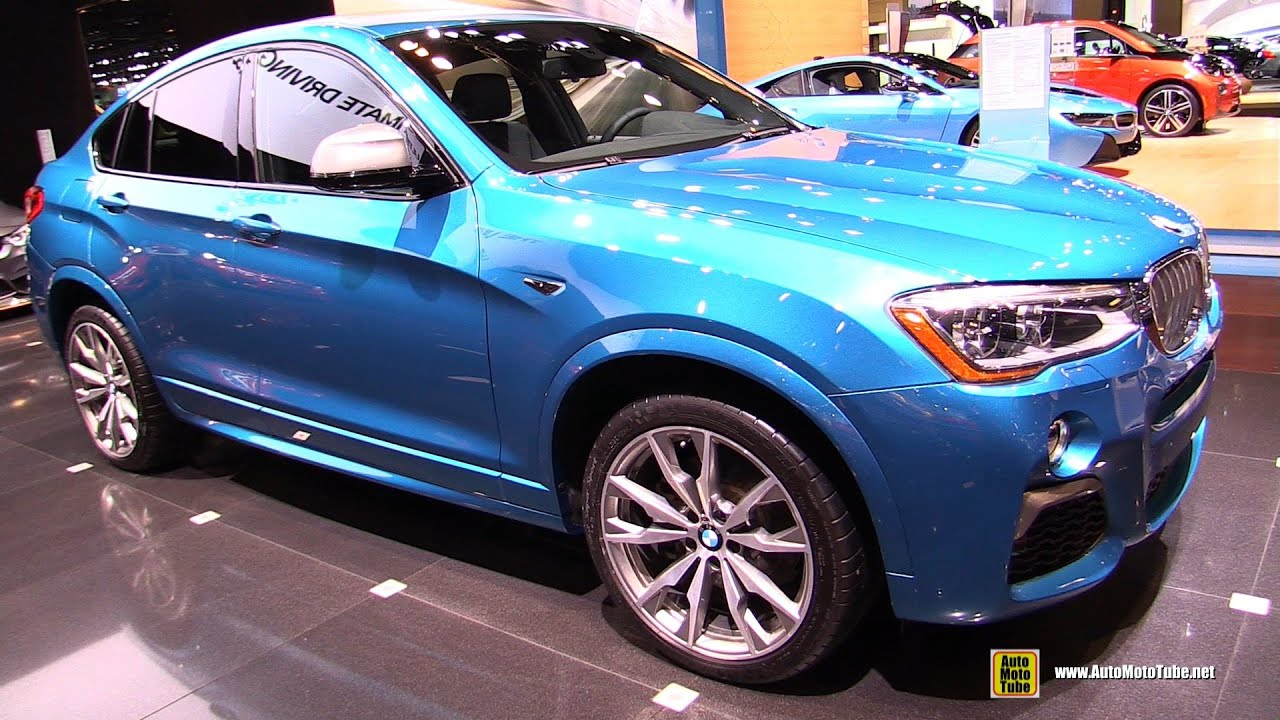 2017 bmw x4 m40i exterior and interior walkaround 2016. Black Bedroom Furniture Sets. Home Design Ideas