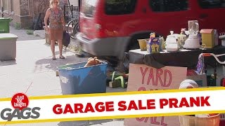 Huge Car Destroy Garage Sale