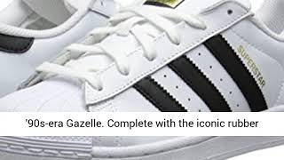 adidas Originals Women's Superstar Shoes, White/Black/White, (8.5 M US)