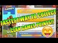 FASTEST Way To Complete Clan Games Points in Clash of clans!!!