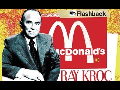 Ray Kroc y la historia de McDonalds