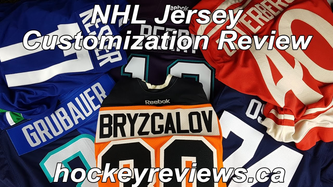 4d796c3d451 NHL Reebok WCH Adidas Jersey Customization Review. Hockey Reviews