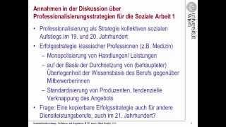 Karl Krajic: Berufsgesetze - Anmerkungen aus einer professionssoziologischen Perspektive