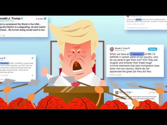 Why Trump's Racist Tweets Work, w Stephen Fry.