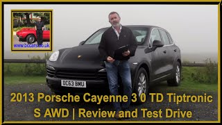 Review and Virtual Video Test Drive In Our Porsche Cayenne 3 0 TD Tiptronic S AWD 5dr DC63BMU
