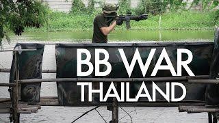 BBgun War Gameplay in Thailand - ปืนบีบีกัน