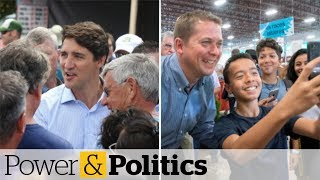 Liberals Up In Seat Projection As Conservative Lead Down To 1 Point | Power & Politics