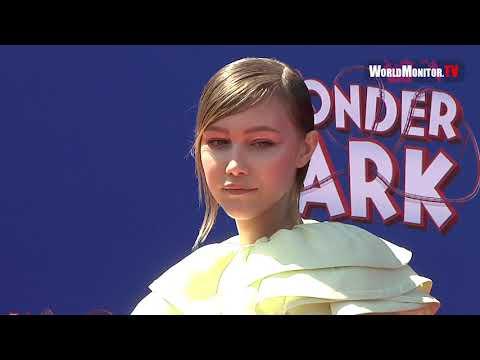 Grace VanderWaal arrives at 'Wonder Park' Los Angeles Film premiere Mp3