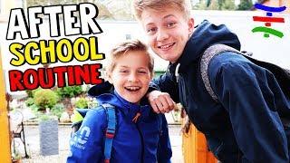 AFTER SCHOOL ROUTINE - Was treiben Max und Ash nach der Schule? 😁 TipTapTube Family 👨👩👦👦
