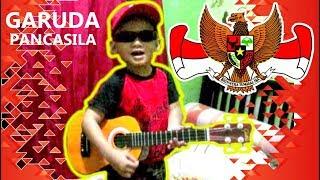 [Dibuang Sayang] Anak Kecil Nyanyi Garuda Pancasila, LUCU BANGET!!! | Praya Brother