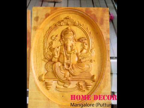 CNC Wood Carving Doors Home DecorMangaloreputtur YouTube
