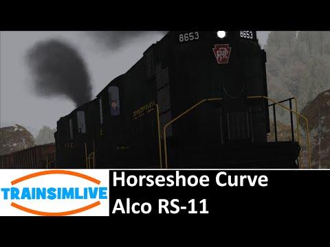 Let's Play Train Simulator 2016 - Horseshoe Curve, Alco RS11