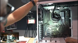 Watch us build an over-the-top RGB PC: Part 2!