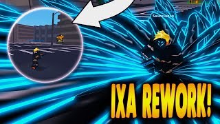 NEW CODE! ReWorked Ixa is Actually Insanse! Ro-Ghoul in Roblox | iBeMaine