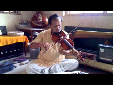 Kamlesh Joshi Play Violin With Song Jina Yaha Marna Yaha....