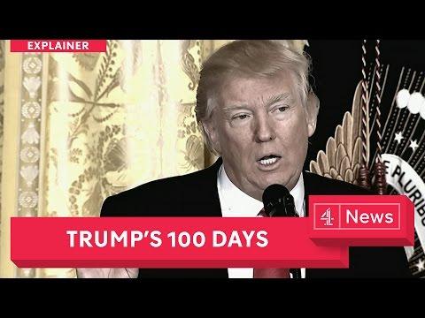 Explainer: Donald Trump's 100 days in office