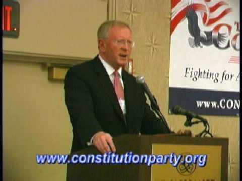 Constitution Party Speaker - Darrell Castle Part 2