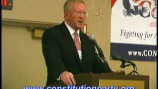Constitution Party Speaker - Darrell Castle Part 2