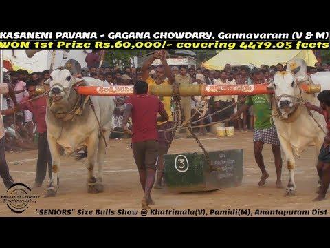"2018 KHATRIMALA ""SENIORS"" 1st Prize Rs.60,000/- WON by KASANENI PAVANA - GAGANA CHOWDARY - 4479.05FT"