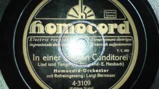 Homocord Orchester - In einer kleinen Konditorei