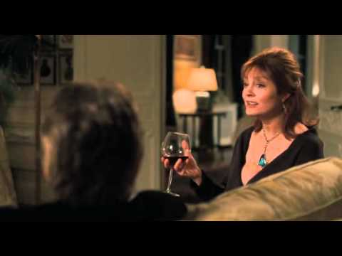 Susan Sarandon deep cleavage in Solitary Man 2009