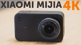 Xiaomi Mijia Action Camera Mini 4K распаковка и включение английского языка
