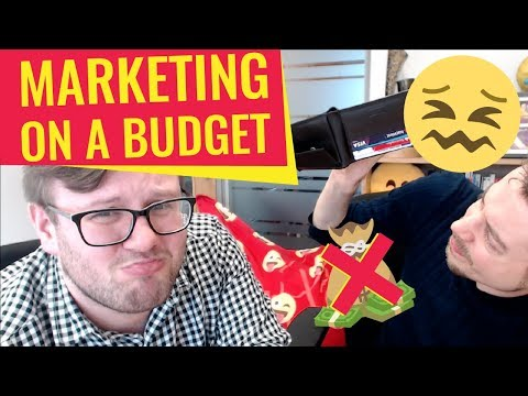 Marketing on a Budget 👉 5 Things You Need to Do 😮