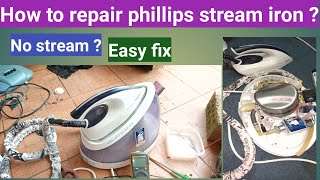 How to repair Phillips steam i…