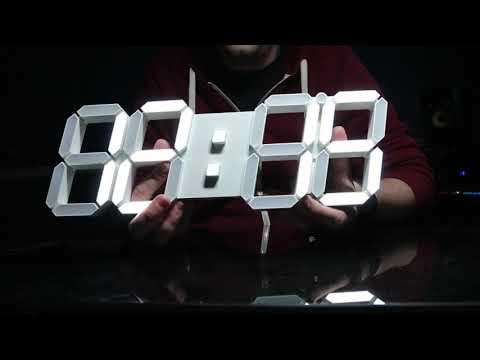 Gooday 3D Digital Wall Clock Review