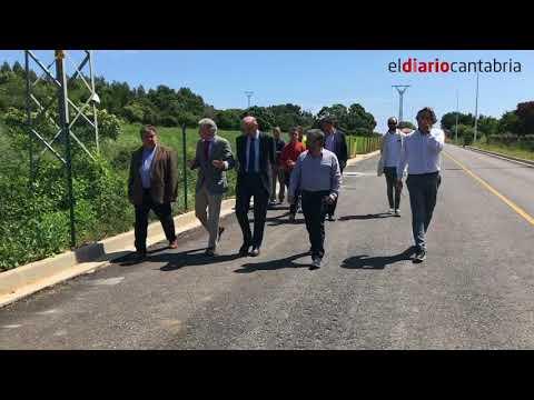 Presentación del proyecto para el casco urbano de Noja y obras del carril Noja-Soano