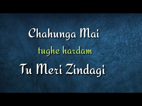 Chahunga Mai Tujhe Hardam Tu Meri Zindagi Song With Lyrics  Satyageet Jaana Song Status