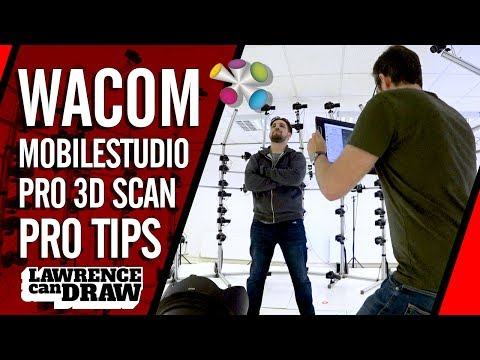Wacom MobileStudio Pro 3D scanner Vs Ten24 (+ tips & tricks)