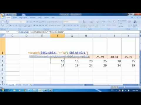How To Create Dot Plot Chart With PRET And COUNTIFS Functions Sec350