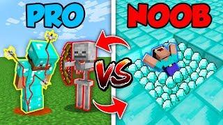 Minecraft NOOB vs. PRO : SWAPPED SAD LIFE in Minecraft (Compilation)