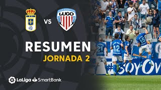 Resumen de Real Oviedo vs CD Lugo (1-1)