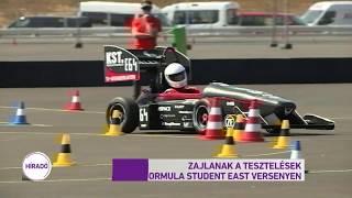 Zajlanak a tesztelések a Formula Student East versenyen